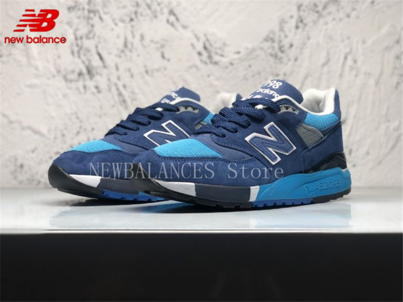 New Balance Concepts M998 Men's And Women's 998 Made In USA Sneakers ABZORB Classics Badminton Shoes Size 36-45 new balance made 1978 made in the usa