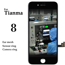 5pcs Tianma High Quality Display For iPhone 8 LCD Touch Screen With 3D Touch Digitizer Assembly Phone Replacement Spare Parts стоимость