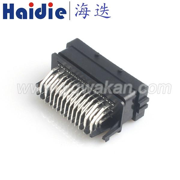 O envio gratuito de 1 conjunto FCI PCB conector 39pin ECU eletrônico, sistema de controle 39 p conector ecu