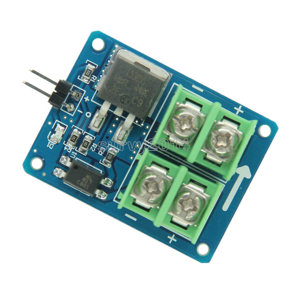 arduino připojení motoru štít