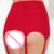 Nuevo negro rojo mujeres calientes underwear lingerie sexy señoras de talle alto de encaje hueco-hacia fuera de liga liguero sexy mujeres