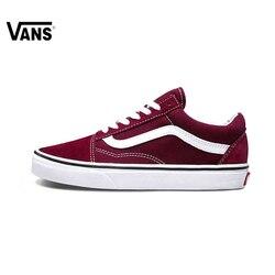 Original New Arrival Vans Men's & Women's Classic Old Skool Skateboarding Shoes Sport Outdoor Canvas Sneakers Comfortable