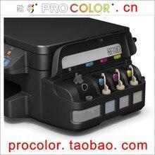 774 T7741 BK est pigment d'encre CISSS recharge Photo réservoir d'encre 664 est colorant d'encre kit de recharge Pour Epson L605 L655 L 605 655 imprimante jet d'encre
