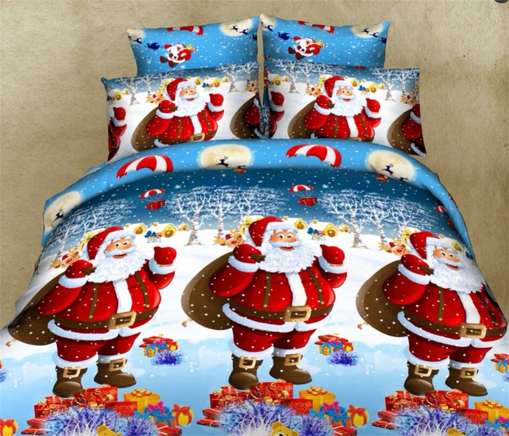 Christmas Quilt Set Queen