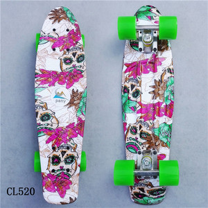 Image 4 - Mini Cruiser Skateboard LED Light Four Wheel Skate Board Adult&children Tablas De Skate Board Loaded Skateboard Complete