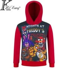 Five Nights At Freddy Kids Boy Long Sleeve Clothes 4-12 yrs Children T-shirt Fnaf T Shirts With Freddy Tshirt Toddler For Boys