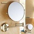 """Antiguo/Oro 8 """"Double Side 1:1 y 1:3 de la lupa de Cobre Baño Cosmética Doble Cara Espejo de Baño espejo de pared 7018B-17018G-1"""