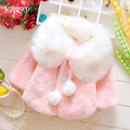2017 autumn winter baby girl cape coats cotton cute baby girl clothing children kids baby girl clothes cape cloak shawl GC218