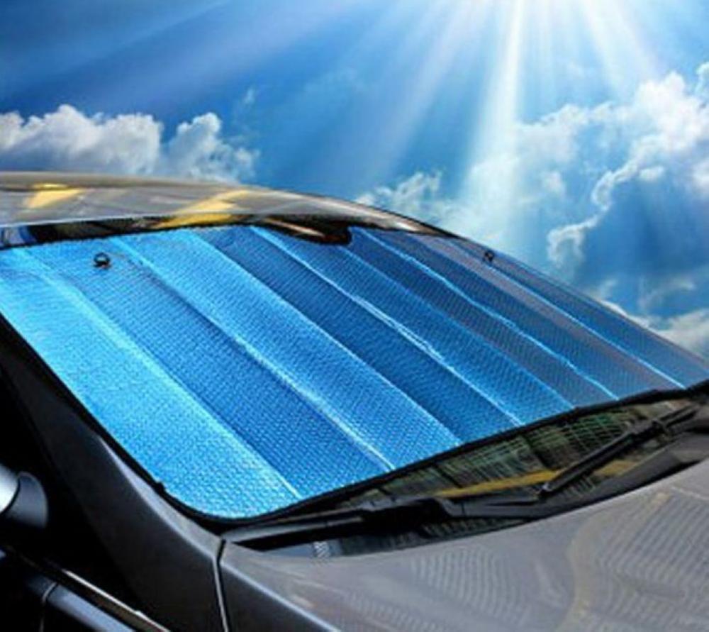 Auto Window Shades >> 1 X Blue Truck Van SUV Auto Car Sun Visors Windshield Sun ...