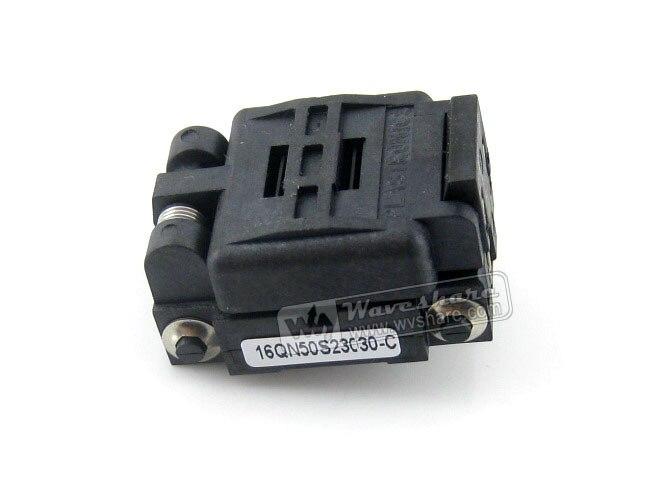 Plastronics 16QN50K23030 16QN50S23030 IC Test Socket Adapter 0.5mm Pitch voor QFN16, MLP16, MLF16 Pakket Gratis Verzending-in Demo bord van Computer & Kantoor op AliExpress - 11.11_Dubbel 11Vrijgezellendag 1