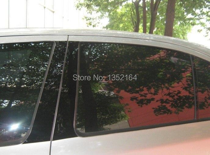 Авто среднего окна планки для Octavia, 6 шт./компл., BC, внешняя отделка автомобиля аксессуары