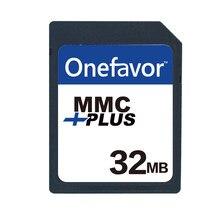 Mais novo Cartão MMC 32MB MB 128MB 256MB 512MB 1 64 GB onefavor MultiMedia Card 13 PINOS