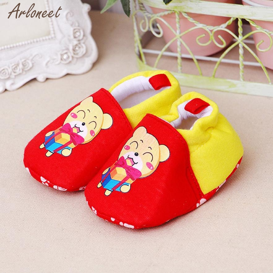 Baby Shoes Prewalker Newborn Girls Infant Boys Cartoon Casual Soft JAN23