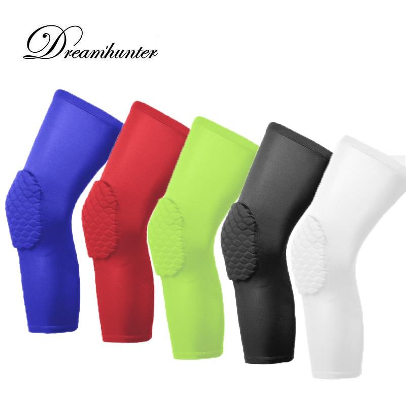1 kus kolenní volejbalové knoflíky Ochranné koleno podložky Podpěra Basketbal nohy koleno rukávy komprese kolenní chrániče chráničů