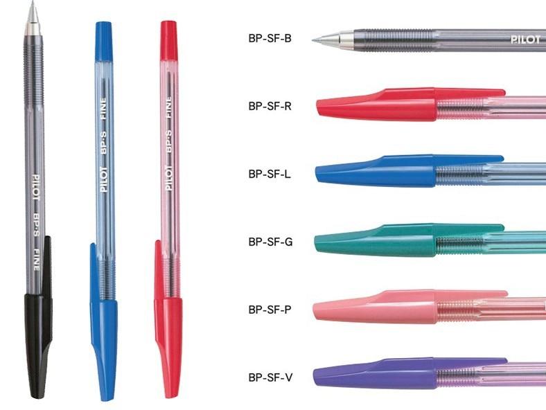 1 Piece Pilot BallPoint Pen BP SF 6 Colors Choose Japan Standard Pen Office And School