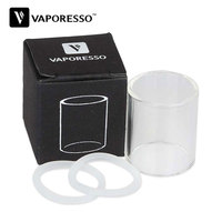 100 Original Vaporesso Gemini Tank Pyrex Glass Tube Clear Replacements Spare Parts For Gemini CCELL SS316