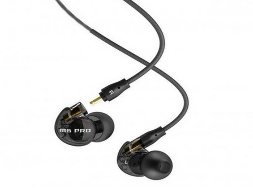 MEE Audio M6 PRO Noise-isolating High Fidelity  In-Ear Monitors Earphones with Detachable Cables  dhl free 2pcs black white m6 pro universal 3 5mm wired in ear earphone noise isolating musician monitors brand new headphones