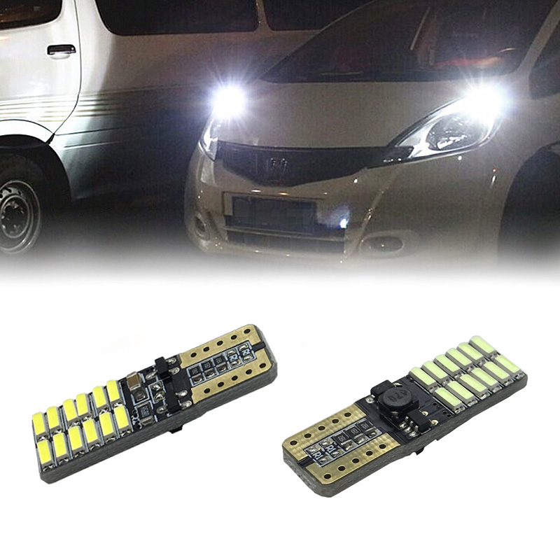 2 X T10 W5W led bulbs No error with Projector Lens for Ford skoda Kia Toyota hyundai mazda honda Mitsubishi Suzuki источник света для авто eco fri led 31 t10 w5w honda acura hyundai isuzu kia lexus mazda 6 x