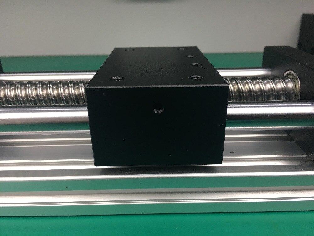 GGP 1605 200mm vis à billes Table coulissante course efficace Rail de guidage axe XYZ mouvement linéaire + 1 pc nema 23 moteur pas à pas - 3