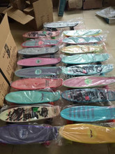 """With Nice Gift !! Plastic skateBoard Complete Style 22"""" free shipping by train to Moscow without customs fees 20pcs"""