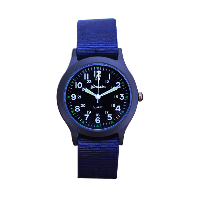 2018 fashion cool boys children canvas luminous hands quartz wristwatches men st