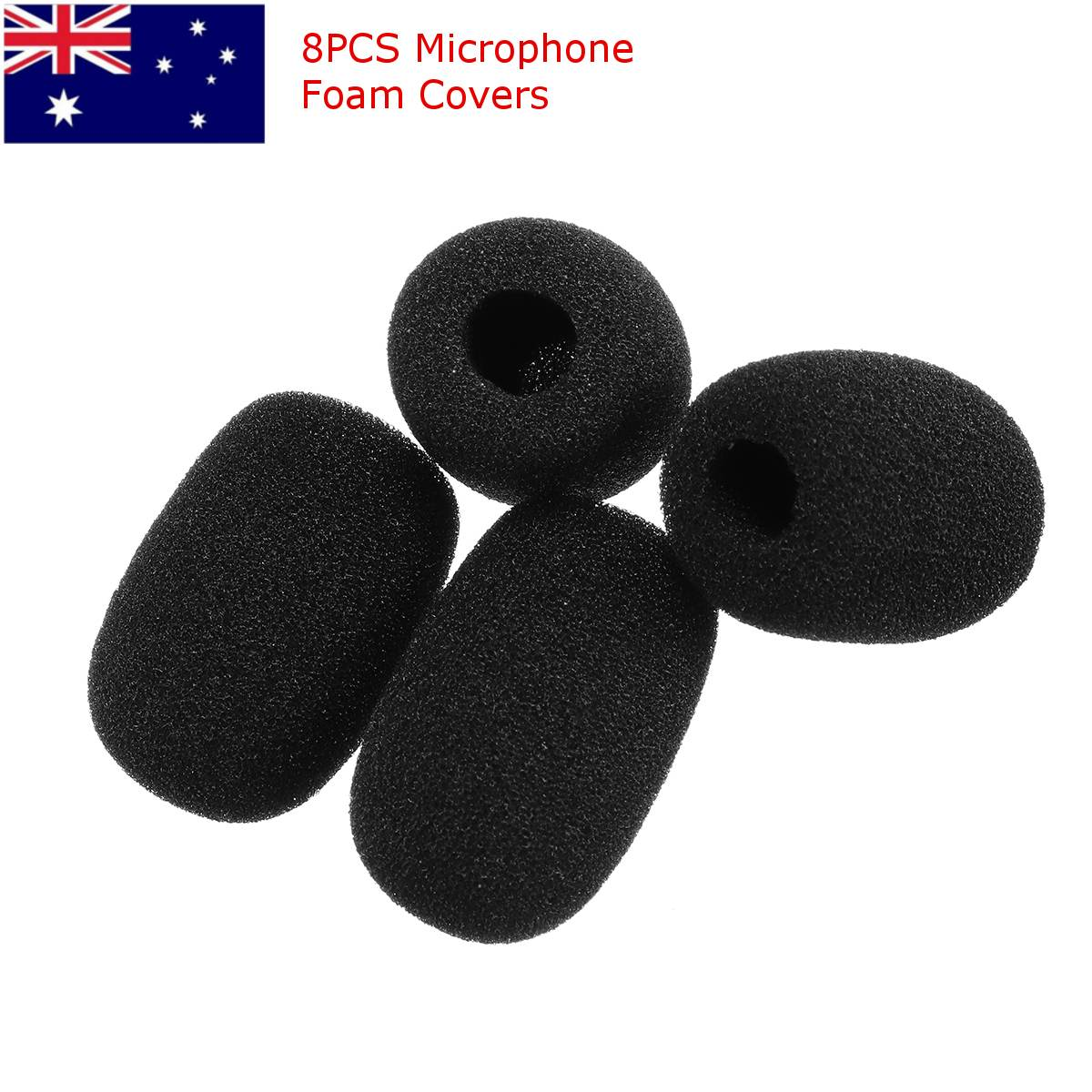 4pcs Professional Mic Filter Foam Wind Screen For Shure WH20 PG30 PGA31 SM35 High Quality Thickening Microphone Foam Cover