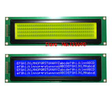 1 unids 40x4 4004 4x40*4 404A carácter módulo LCD azul blanco retroiluminación LED KS0066 SPLC780 o compatible