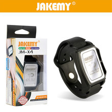 JAKEMY Magnetic Bracelet for Screws Mobile Phone Repair Tool Screw Hand Tools Magnetizer Demagnetizer Tool Wristband