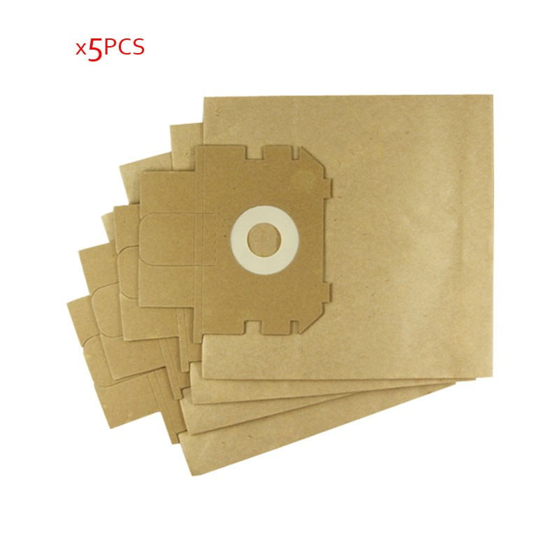 5 pcs/lot Vacuum Cleaner Parts Filter Garbage Bag Paper Dust Bags for Electrolux ZW1100 E37 E39 Z2570 E16 ingenio electrolux es 53 4 bags 1mf