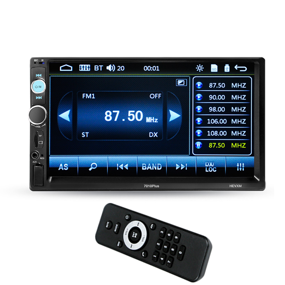 Wireless Auto 7in Touch Screen Automagnitola 2 Din Car