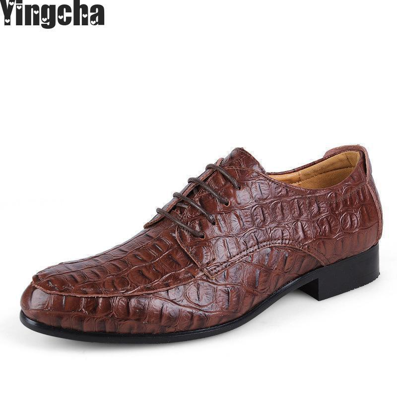 Spring Summer Oxfords Men Shoes Luxury Genuine Leather Shoes Top Brand Vintage Casual Shoes Men Big Size 38-50 2017 men shoes fashion genuine leather oxfords shoes men s flats lace up men dress shoes spring autumn hombre wedding sapatos