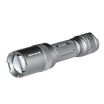 Portable 160 Lumens IP68 Waterproof Tactical Flashlight with Cree LED Torch Light and Picatinny Rail Side Mount for Self Defence