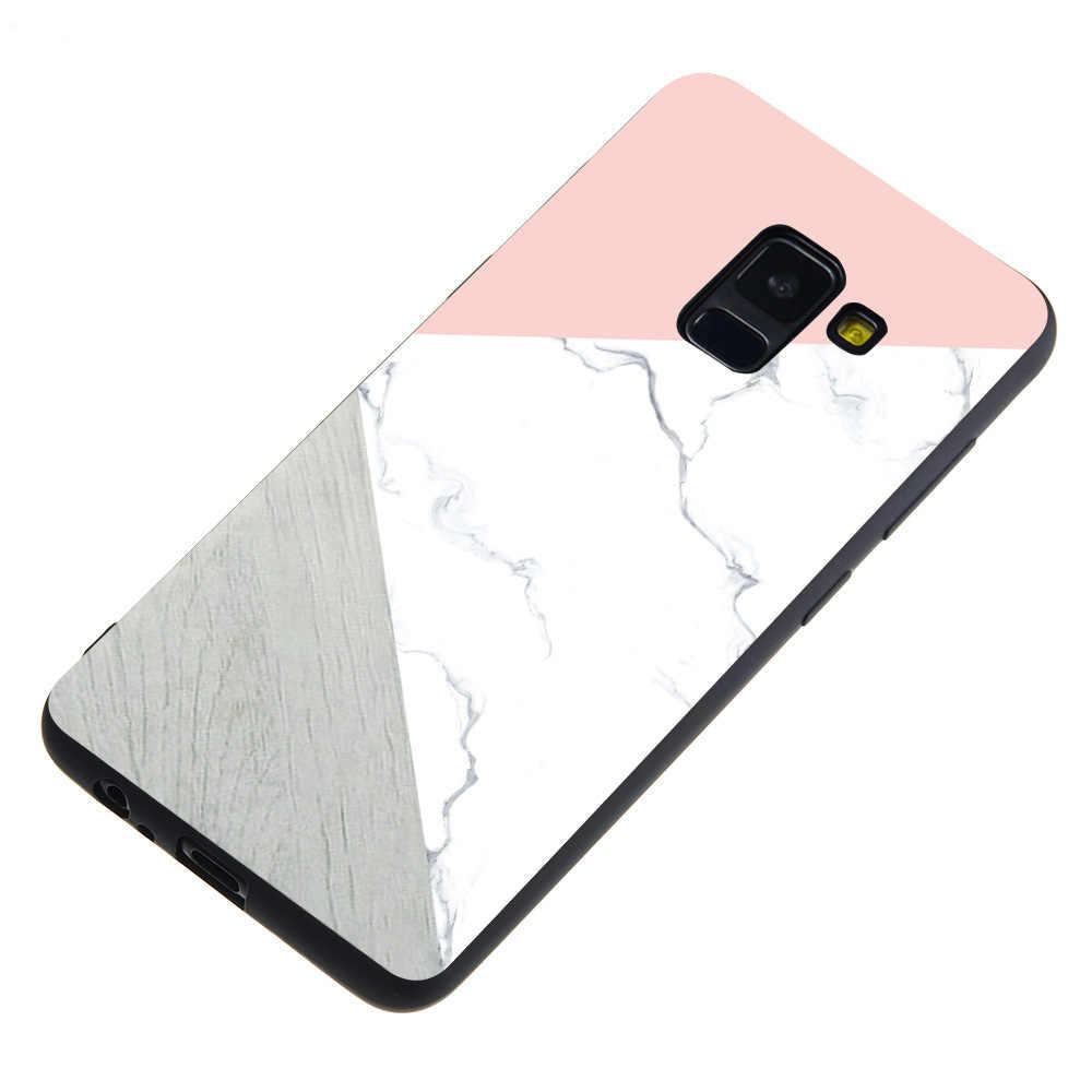 Lüks Telefon Kapakları Samsung S8 S9 Artı S6 S7 Kenar J7 Duo J3 J5 J7 2017 Avrupa Edition Yumuşak kılıfı Fundas çapa Coques