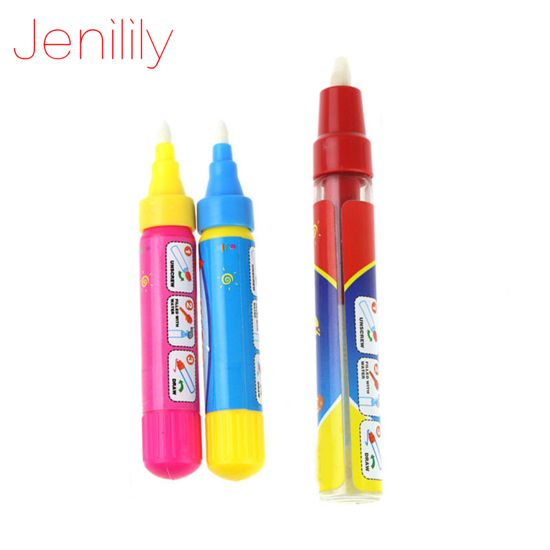 Jenilily 1pcs American Doodle Pen Water Drawing Replacement Non-toxic Water Magic Drawing Pen Preschool Education Drawing Toy