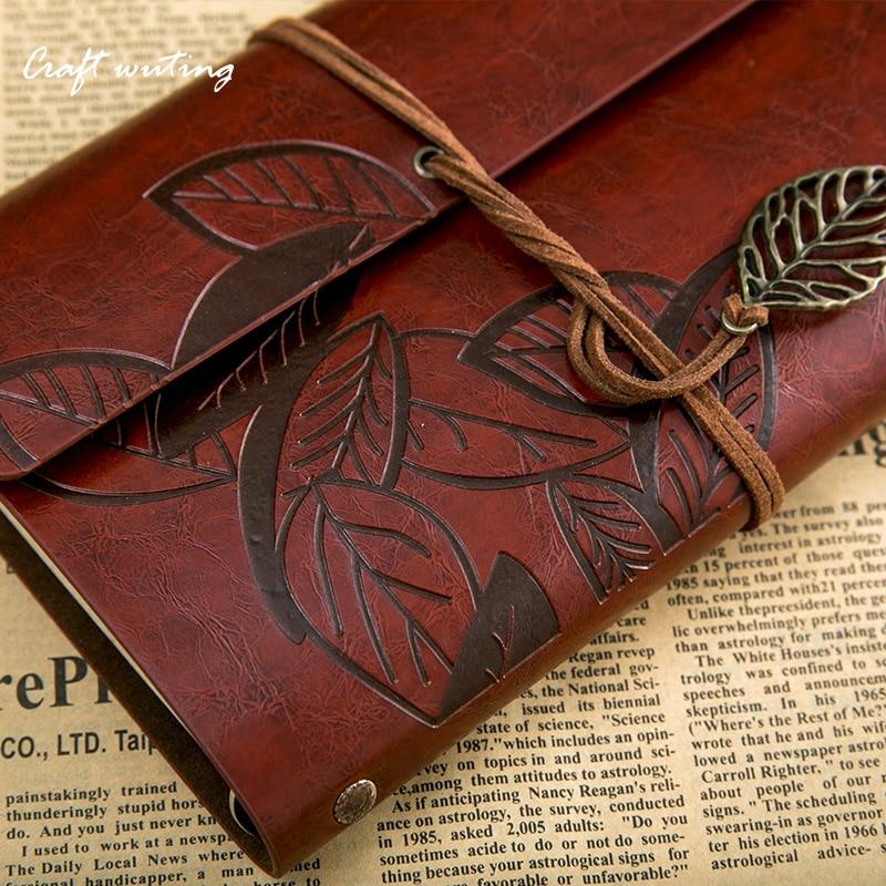 все цены на leather journalHot salenote book Planner vintage kraft paper blank traveler sketchbook diary A5 note book can be engraved530 онлайн