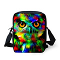 Small Girls School Bag Camouflage 3D Animal Owl Tiger Printing Children School Bag Mini Kids Shoulder Book Bag Mochila Escolar
