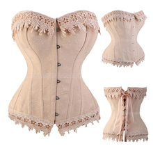 Lace Up Corsets And