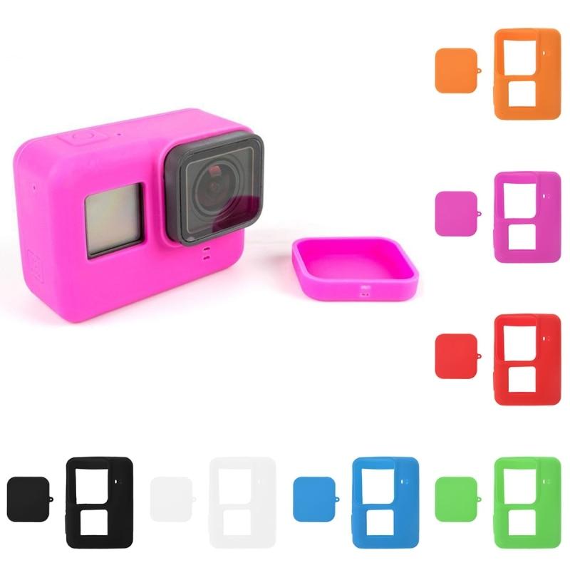 Lens Accessory Camera Accessory Silicone Lens Cap for Xiaomi Yi//GoPro Hero4 // 3+ // 3 Black Color : Magenta