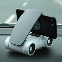 Dashboard Car Phone Holder Stickers Base Clip Universal For 3 5 6 Inch Mobile Phone IPhone