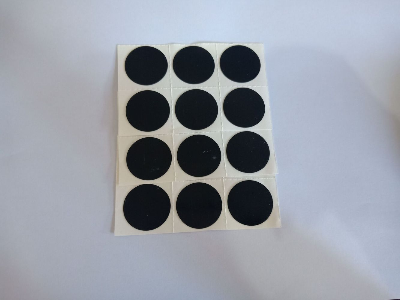 6 Pcs Bicycle Tire Repair Patch 25mm Round Glue-free Tire Repair Bike Tool Fast And Portable For Cycling MTB Moto Road Mountain