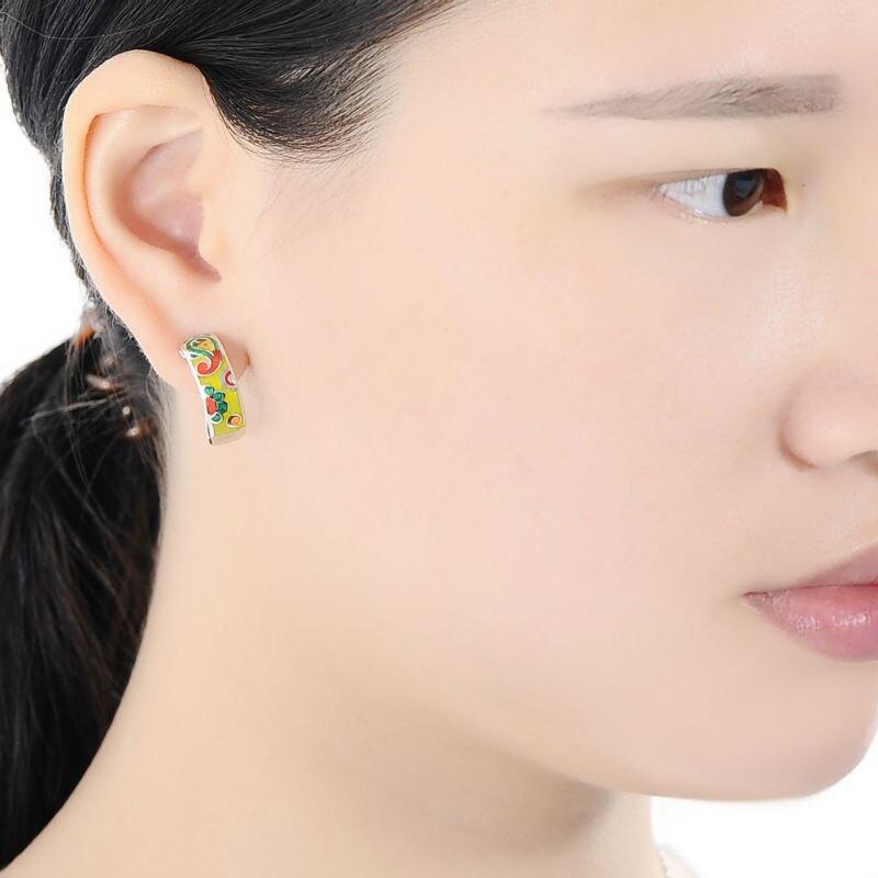 E303901ENMSL925-001-Silver Earrings