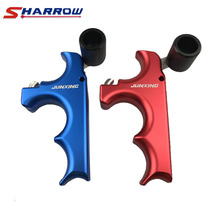 Sharrow 1 Piece 3 Fingers Grip Stainless Steel Compound Bow Arrow Release Tool Archery Accessory for Hunting Shooting