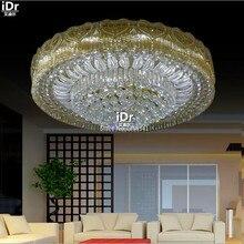 Современные светодиодные лампы кристалла гостиная Роскошный украшение дома освещение Потолочные Светильники высокого качества Высококлассные атмосферу