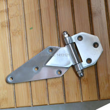 free shipping 6 inch Cold store storage hinge oven hinge industrial part Refrigerated truck car door hinge hardware