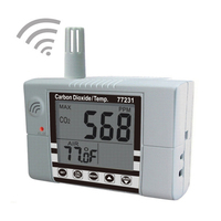 Wall mounted carbon dioxide detection meter With temperature test Indoor Air Quality Meter CO2 Temperature Monitor