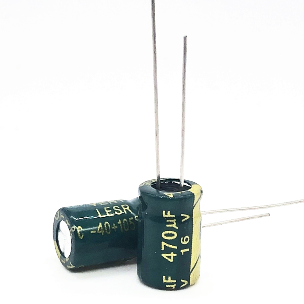 16V 470UF 8*12  High Frequency Low Impedance Aluminum Electrolytic Capacitor 470uf 16v 20%