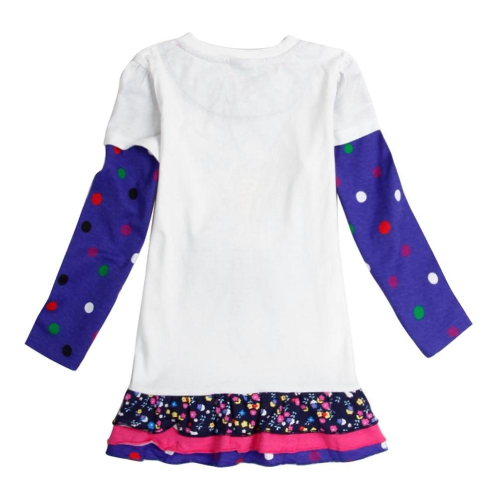 NOVATX hot selling baby meisje jurk katoen kinderen herfst dragen - Kinderkleding - Foto 5