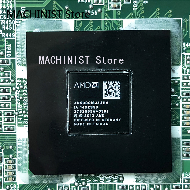 731534-501 731534-001 pour carte mère d'ordinateur portable série HP pavillon 17-E DA0R76MB6D0 DA0R76MB6D1 REV: D A4-5000 100% entièrement testé - 5