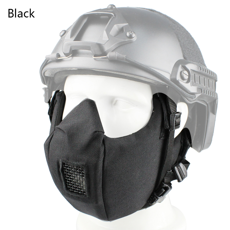 V5 Conqueror Mask Skull Military Mask Paintball Half Face Mask Hunting Paintball Mask Camouflage GZ90066
