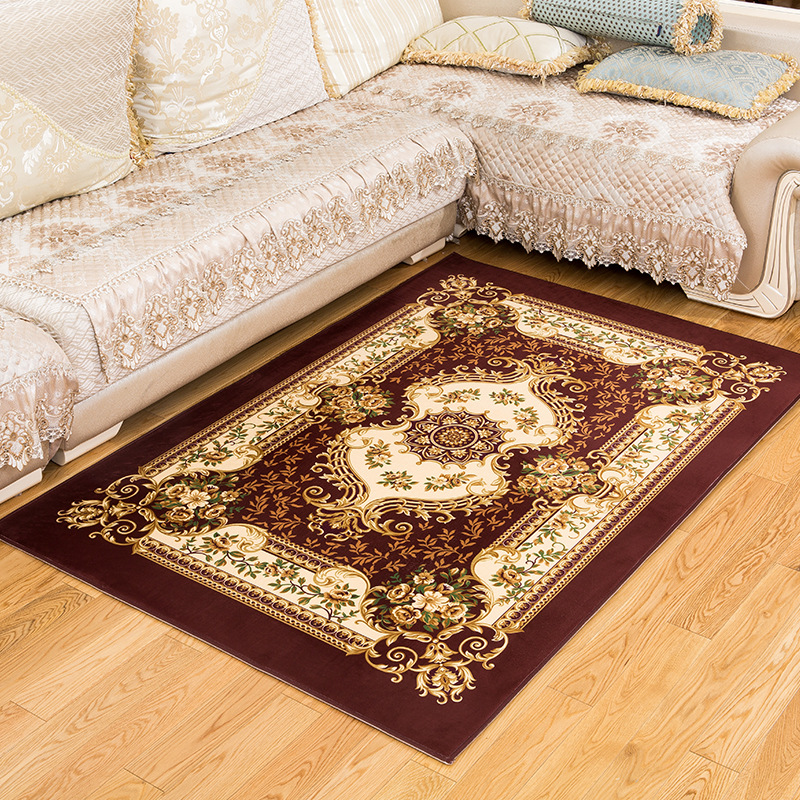 Persian Style Carpets For Living Room Luxurious Bedroom Rugs And Carpets Classic European Floor Mat Coffee Table Area Rug image